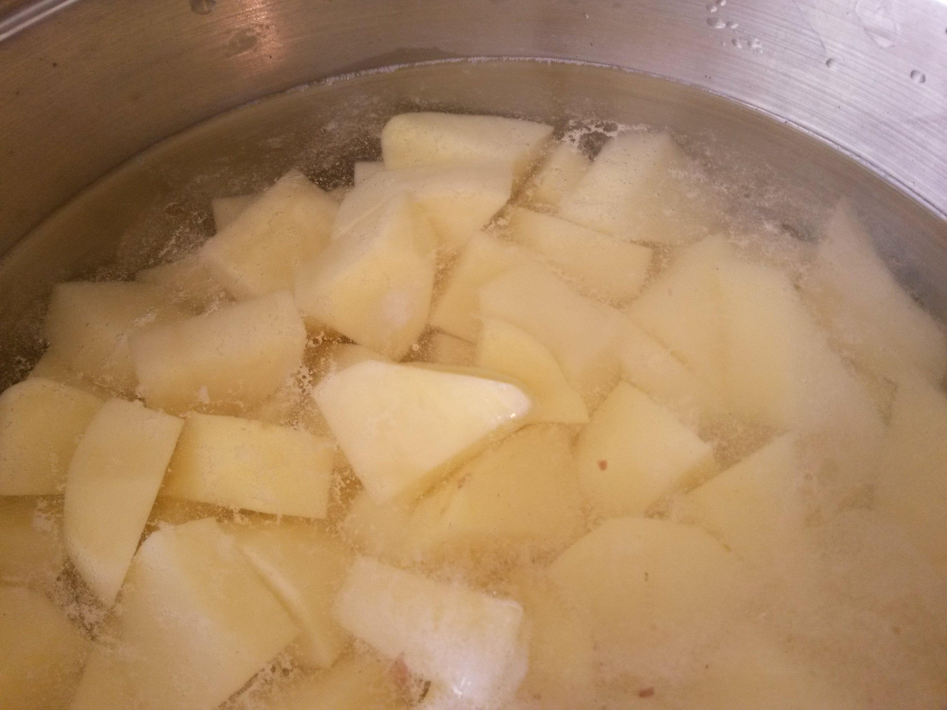 Krumpli felkockázva