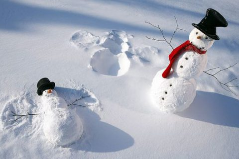 Hóember építés haladóknak